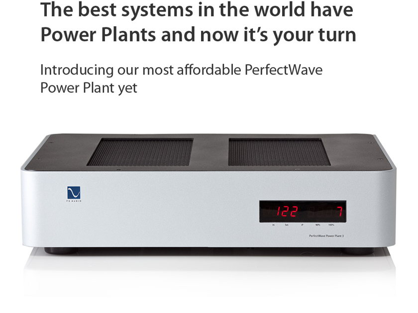 PS Audio P3  New Power regenerators-Great trade ins available