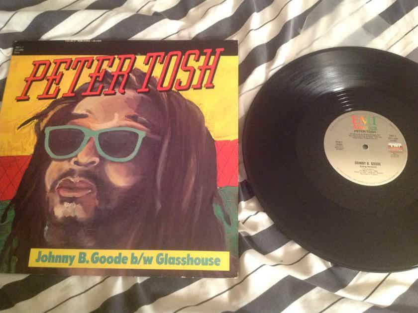 Peter Tosh Johnny B. Goode/Glasshouse 12 Inch Single