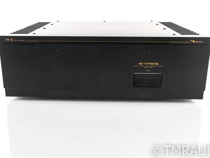 Nakamichi PA-5 Vintage Stereo Power Amplifier; PA5 (19696)
