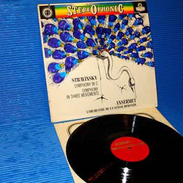 "STRAVINSKY / Ansermet   - ""Symphony in C / Symphony in ..."