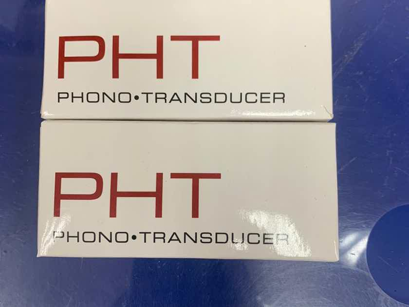 Synergistic Research PHT Phono Transducer x2 Sets New!!