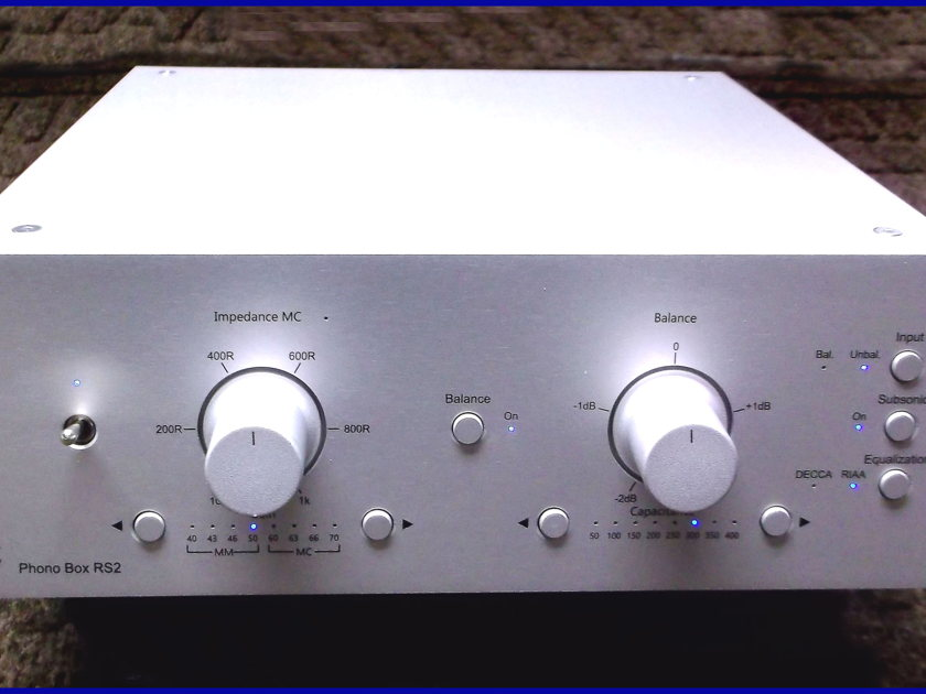 Pro-Ject Phono Box RS2 Phono Stage