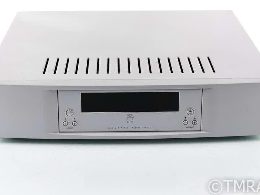 Linn Akurate Kontrol Stereo Preamplifier; DAC; MM/MC Phono; Remote (27886)