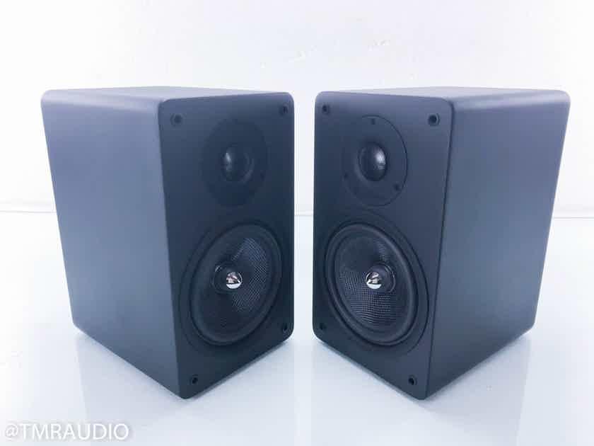 TruAudio TC.3-6M Bookshelf Speakers Matte Black Pair; TC36M (New Old Stock) (13145)