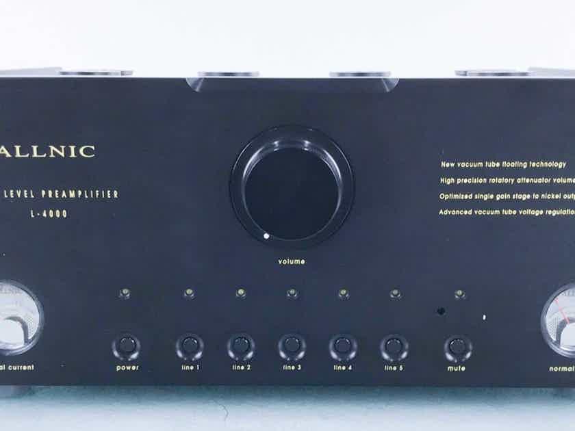 Allnic L-3000 Mk2 Stereo Tube Preamplifier L3000 Mark II (15772)
