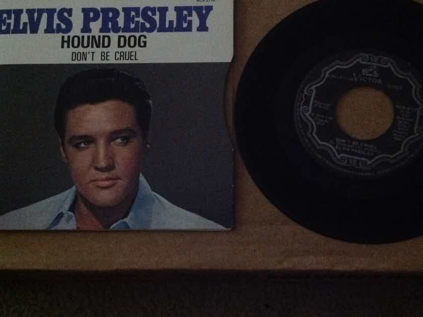 Elvis Presley - Hound Dog/Don't Be Cruel RCA Records Canada 45 Single  With Picture Sleeve Vinyl NM