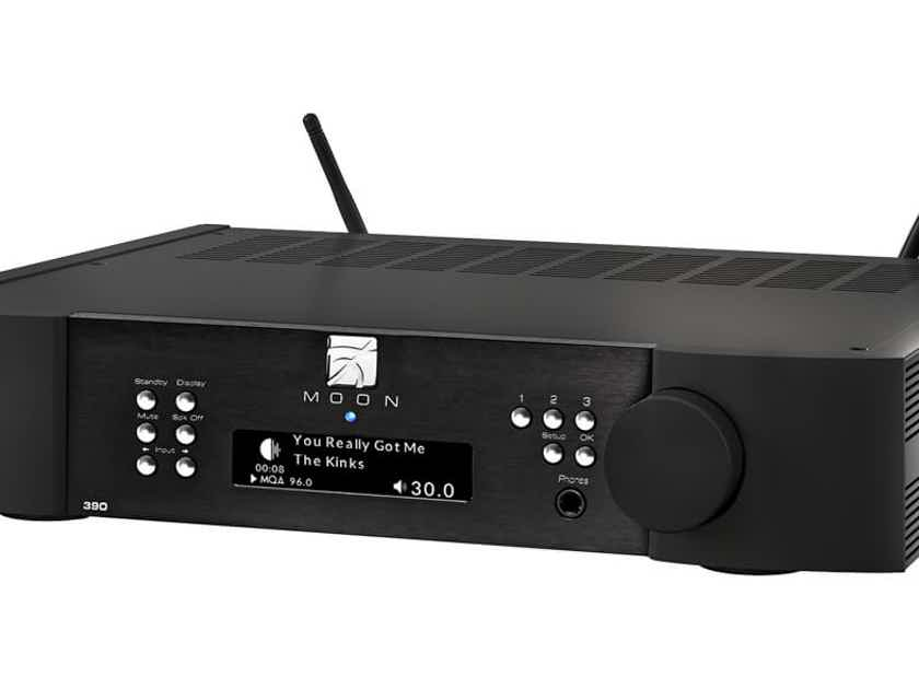 Simaudio MOON 390 Preamplifier Network Player  Roon Ready MQA Streamer DAC