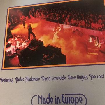 Deep Purple Made In Europe Deep Purple Made In Europe