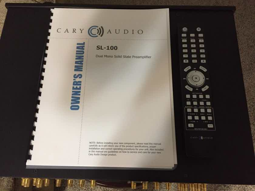 Cary Audio SL-100 Preamp Free Shipping