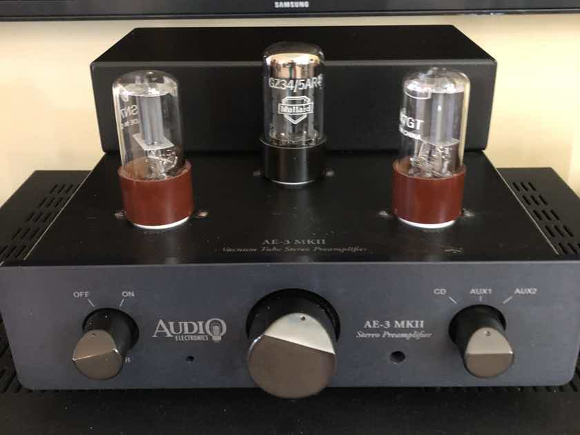 AES (Cary) AE3 MKII Preamp