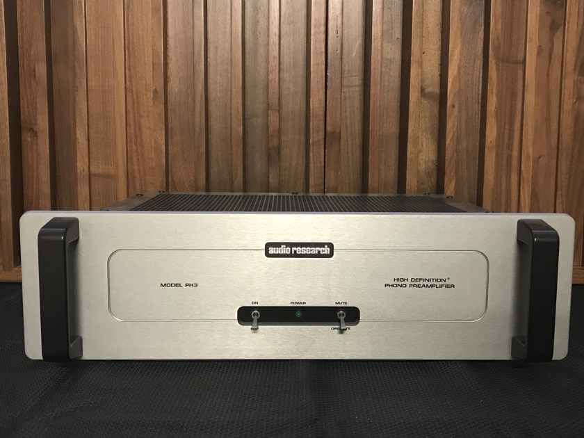 Ultimate upgraded Audio Research PH3 SE