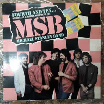 Michael Stanley Band - Fourth And Ten... NM+ Vinyl LP 1...