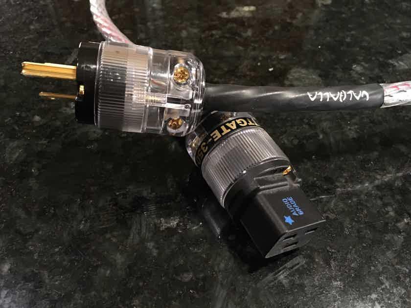Nordost Valhalla 1, 1m 20 amp Power Cord