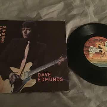 Dave Edmunds Singing The Blues/Boys Talk Swan Song UK