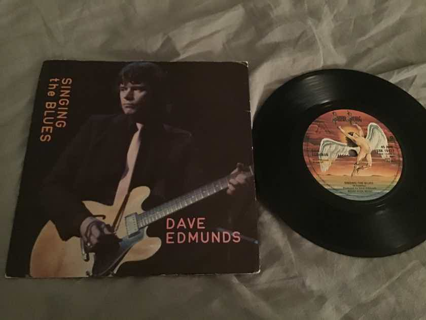 Dave Edmunds Singing The Blues/Boys Talk Swan Song UK