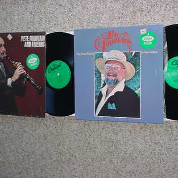 Pete Fountain 2 lp recordS IN SHRINK And friends and Way down yonder in New Orleans re
