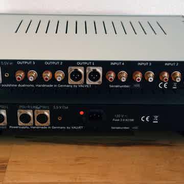 Valvet soulshine II Mk.II - Tube Pre Amplifier - showroom demo in excellent condition