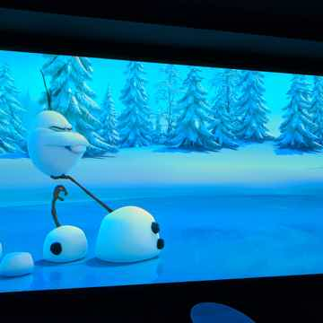 Stewart Filmscreen Snapper Balon Borderless with Studiotek 100 material