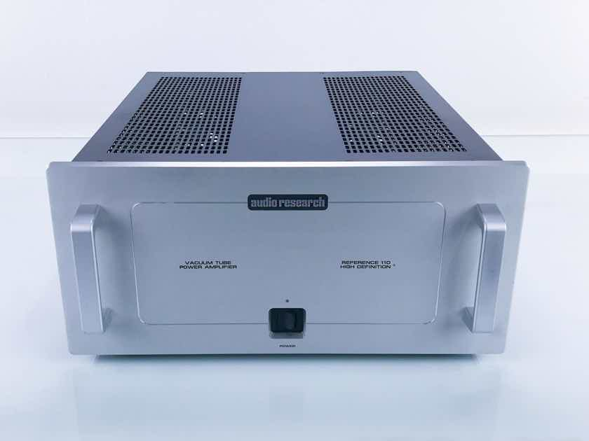 Audio Research Reference 110 Stereo Tube Power Amplifier (16098)