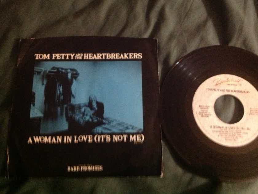 Tom Petty & The Heartbreakers - A Woman In Love(It's Not Me) 45 With Sleeve