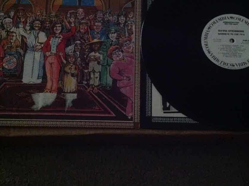 David Steinberg - Goodbye To The 70's White Label Promo Vinyl LP NM Columbia Records