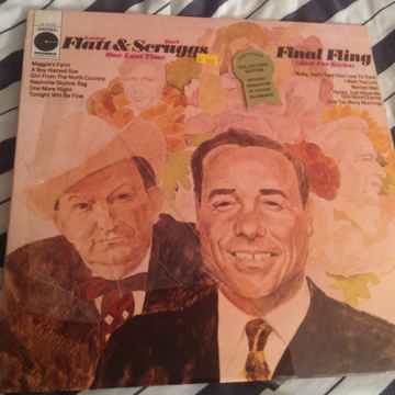 Flatt & Scruggs Final Fling Sealed LP