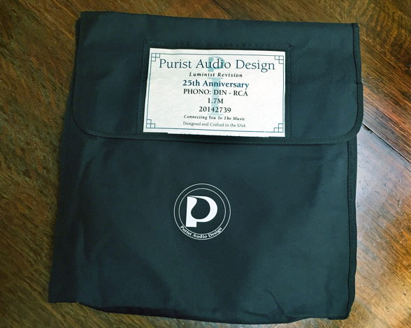 Purist 25th Anniversary DIN to RCA in bag