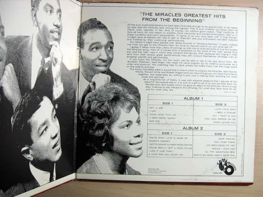 The Miracles - Greatest Hits From The Beginning -  1965 Tamla TM 254