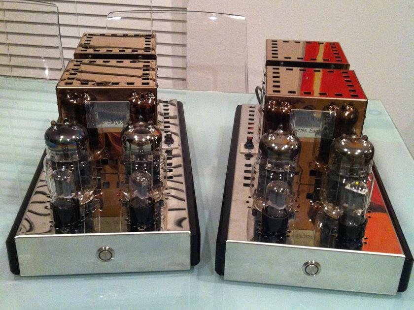 Audio Mirror       bargain 45W SET mono blocks  with  latest upgrade dynamic autobias
