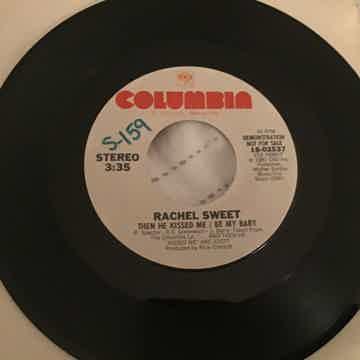 Rachel Sweet Then He Kissed Me/Be My Baby Promo 45 NM