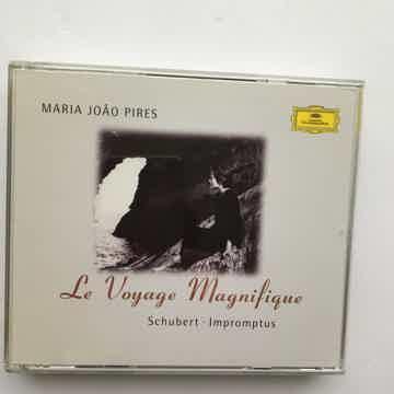Maria Joao Pires Schubert Impromptus  Le Voyage Magnifique cd set 1997 Deutsche Grammophon