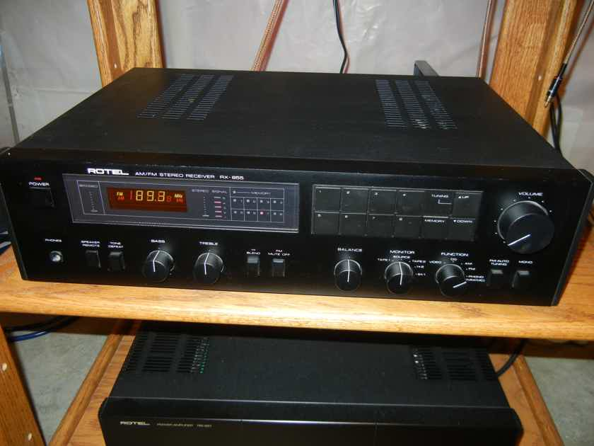 Rotel RX-855 Receiver *EXCELLENT*
