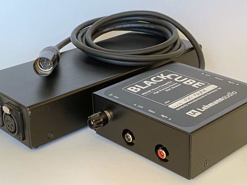 Lehmann Audio Black Cube SE MM/MC Phono Preamplifier RIAA