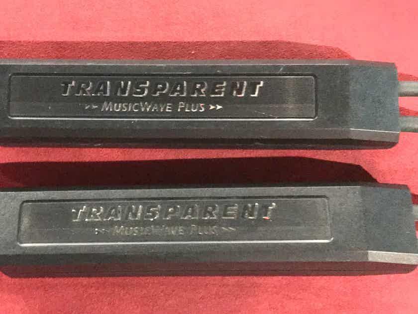 Transparent Audio 20' pair MusicWave Plus