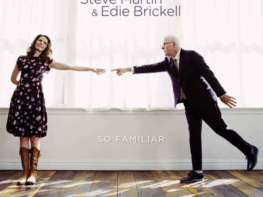 Steve Martin & Edie Brickell  So Familiar 180g LP