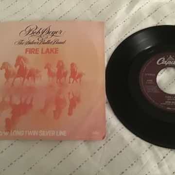 Bob Seger Fire Lake 45 With Picture Sleeve Vinyl NM