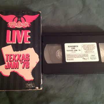Aerosmith  Aerosmith Live Texxas Jam '78