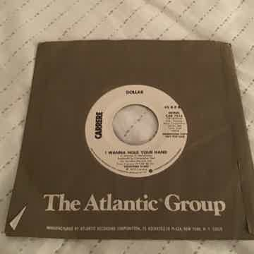 Dollar  I Want To Hold Your Hand Promo Mono/Stereo 45  NM