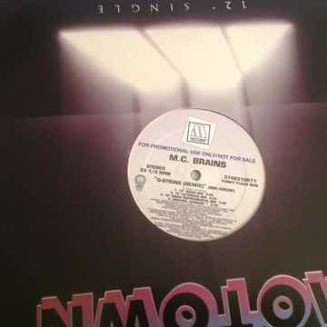 M.C. Brains  G-String (Remix) Motown Records Promo 12 I...