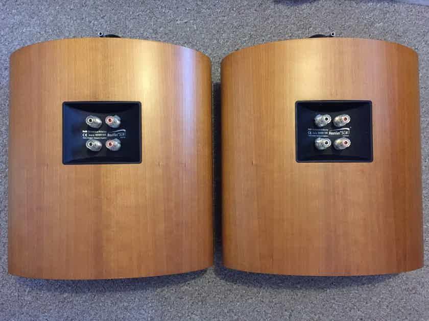 B&W Nautilus SCM1 speaker pair