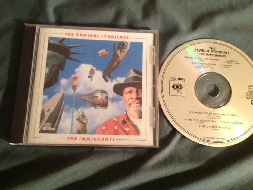 The  Zawinul Syndicate   The Immigrants Early DADC Compact Disc