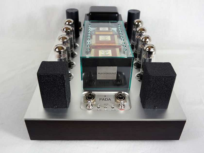 Aurorasound PADA - hybrid EL34 / KT150 power amplifier - gorgeous sound