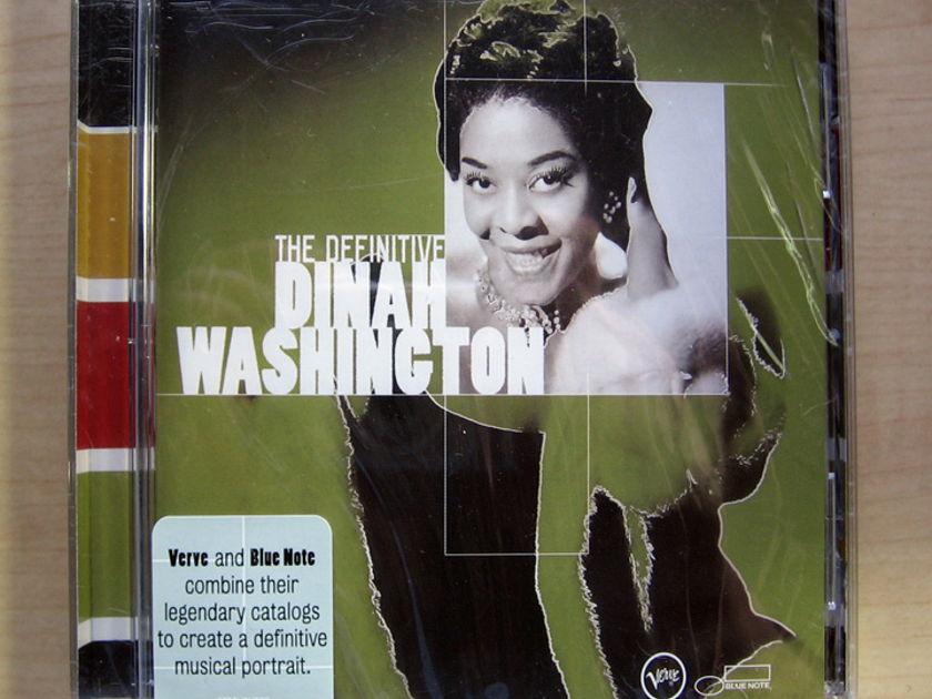 Dinah Washington - The Definitive Dinah Washington - Factory Sealed New CD VERVE 314 589 839-2