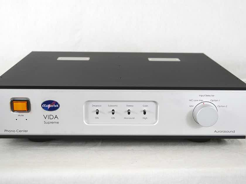 Aurorasound VIDA Supreme - LCR phono stage - a new masterpiece from Japan