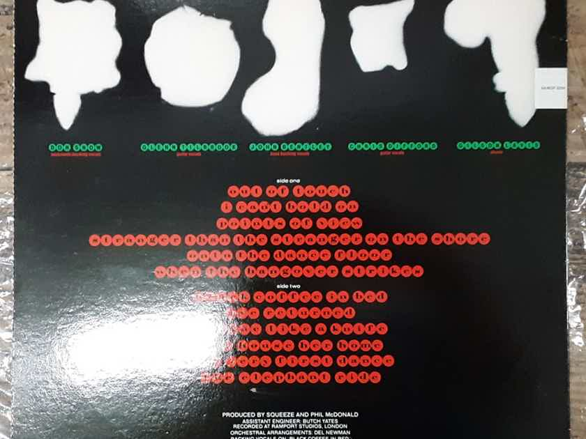 Squeeze - Sweets From A Stranger 1982 EX+ Vinyl LP  A&M Records SP-4899