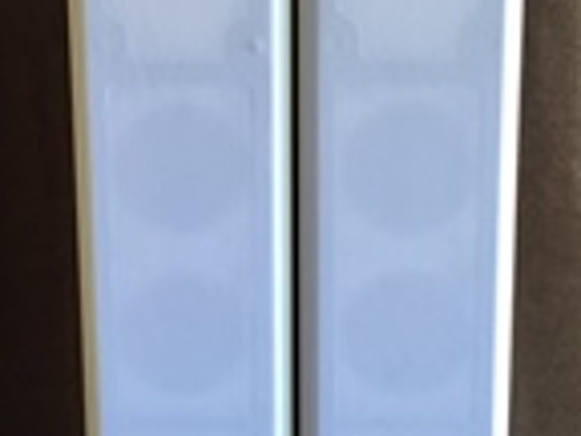 Totem Acoustics Tribe 5 white on-wall speakers