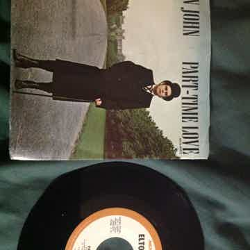 Elton John - Part Time Love/I Cry At Night 45 With Pict...