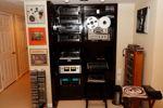 Vintage Stereo Rack