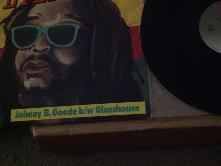 Peter Tosh - Johnny B. Goode/Glasshouse 12 Inch Single EMI America Records Vinyl NM