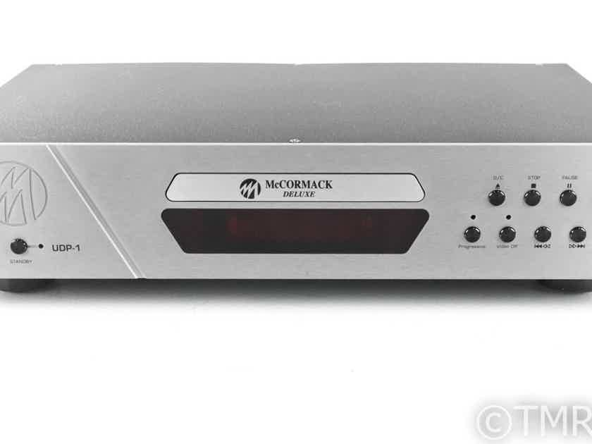 McCormack UDP-1 Deluxe Universal Disc Player SACD / CD / DVD; Remote (21309)